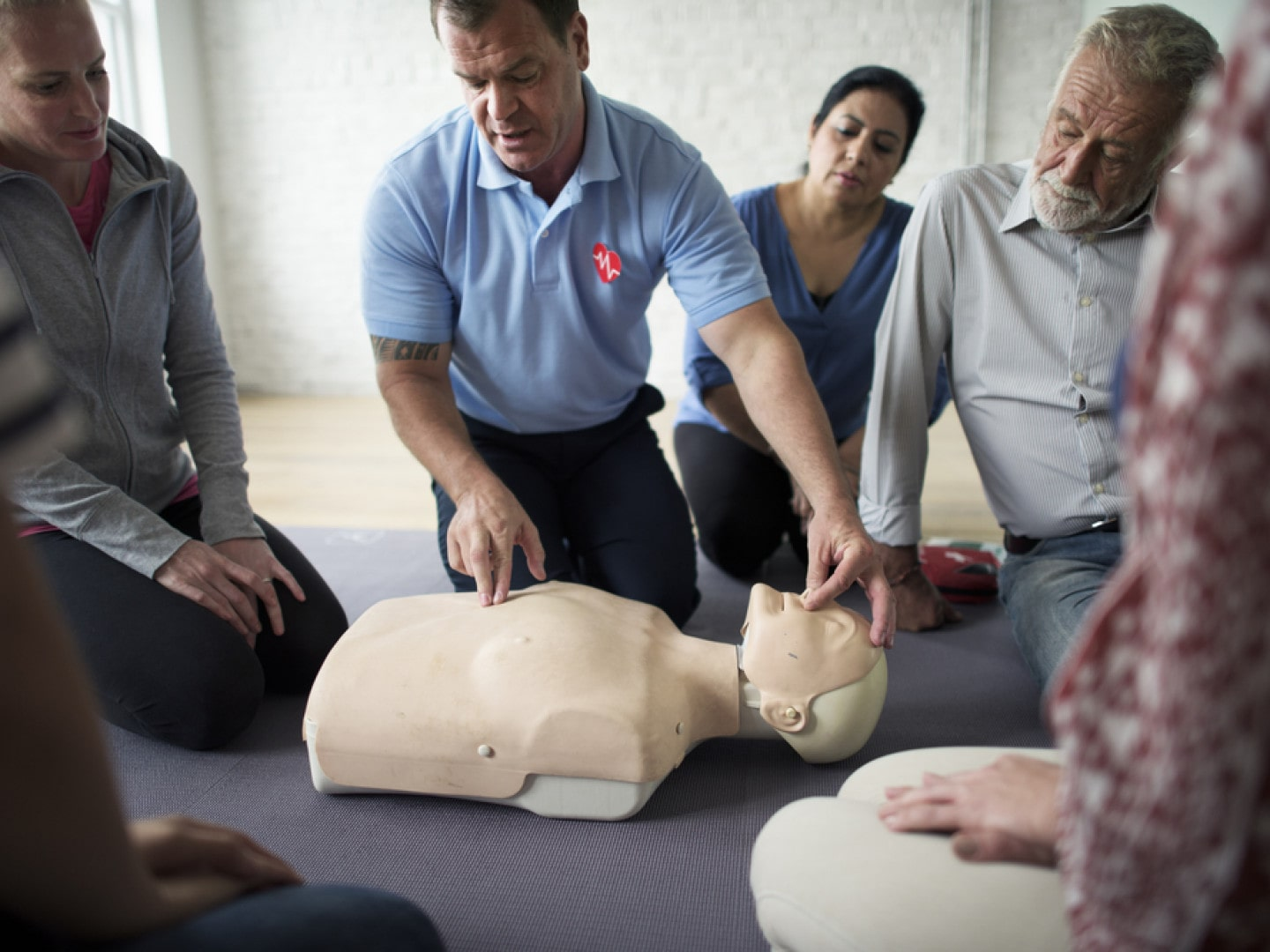 TAKE YOUR CPR TRAINING ONE STEP FURTHER